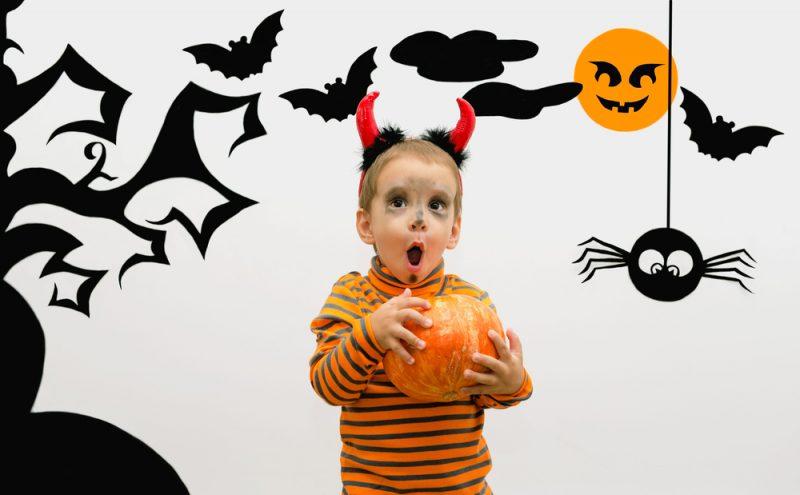 Halloween per i bambini: vestiti, scherzetti e decorazioni ...