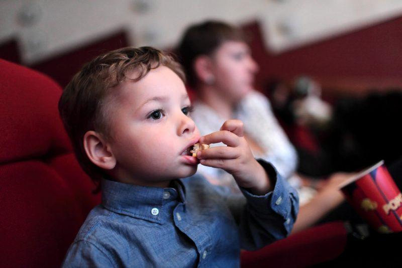Al cinema coi bambini