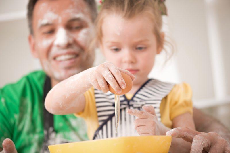 ricetta con papà: la frittata