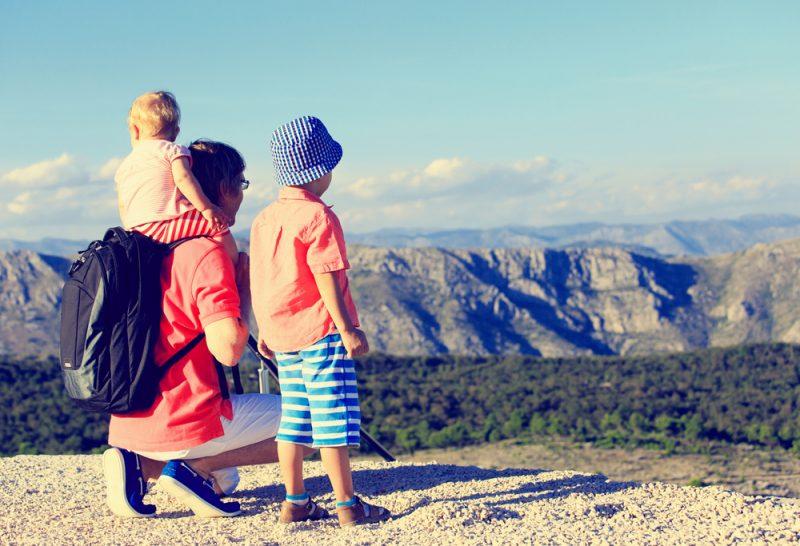 viaggi in montagna con i bambini