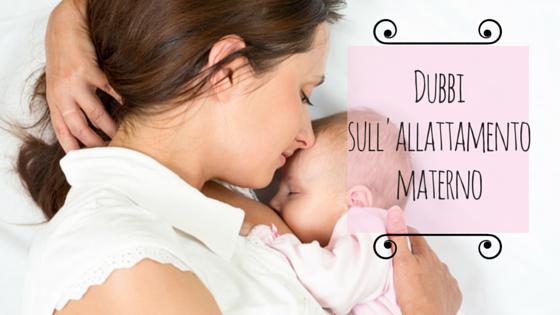 Dubbi-allattamento-materno