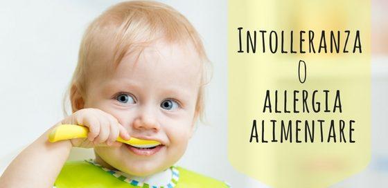Intolleranza oallergia alimentare