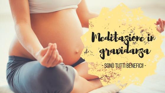 Meditazione in gravidanza