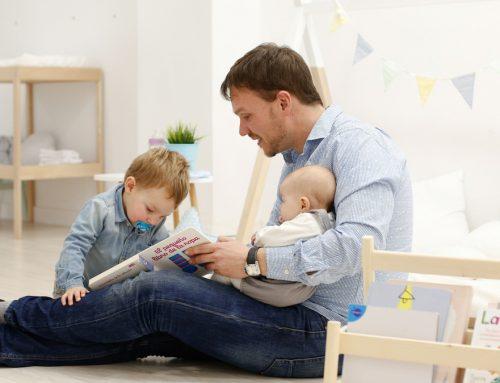 6 momenti con il bambino che devi lasciare a papà